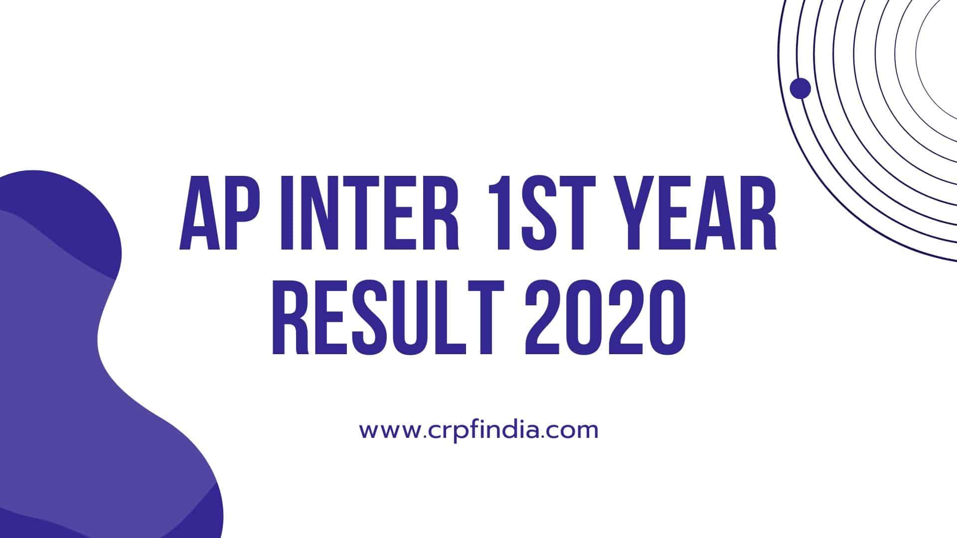 Photo of AP Inter 1st year Result 2020 BIEAP Intermediate 12th Class Result Date