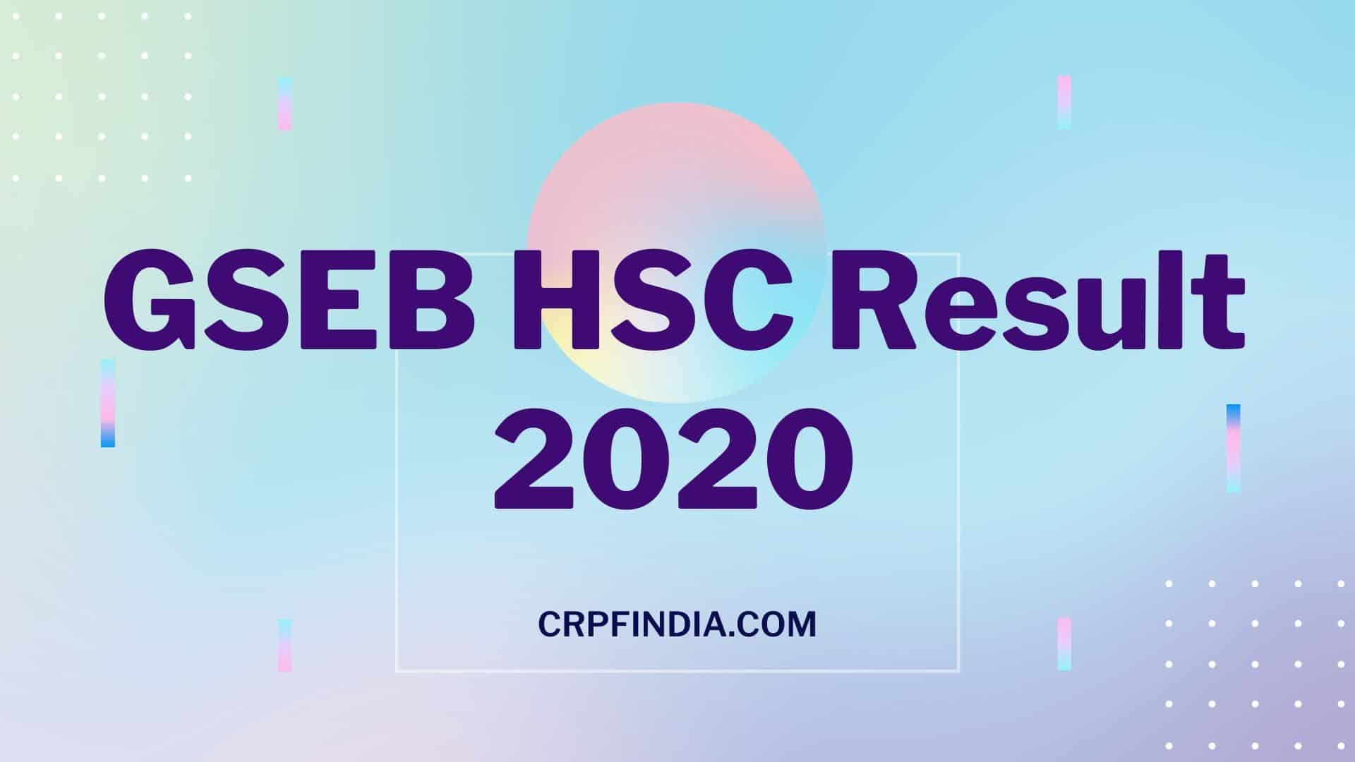 Photo of GSEB.org HSC Result 2020 Check Gujarat Board 12th Result 2020 Here