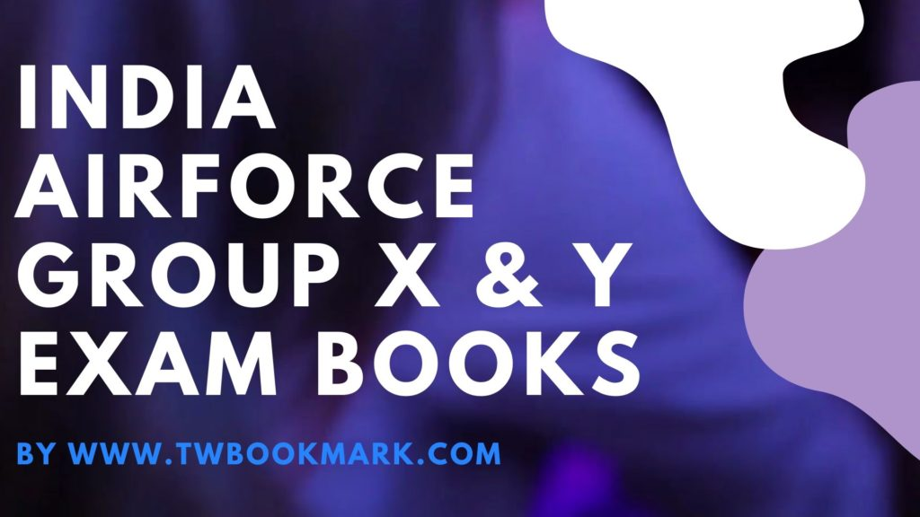 India Airforce Group X & Y Exam Books