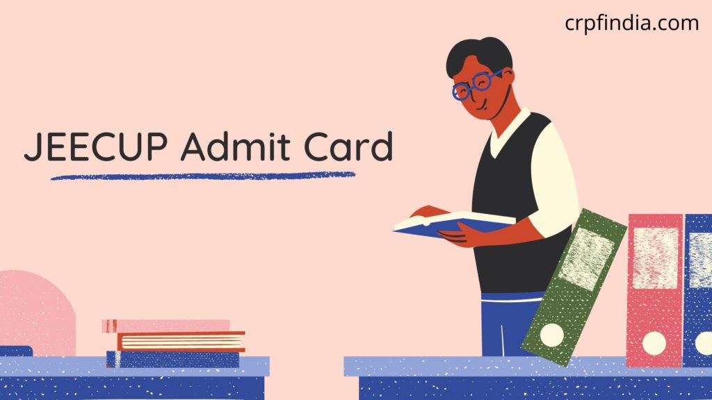 JEECUP Admit Card 2020