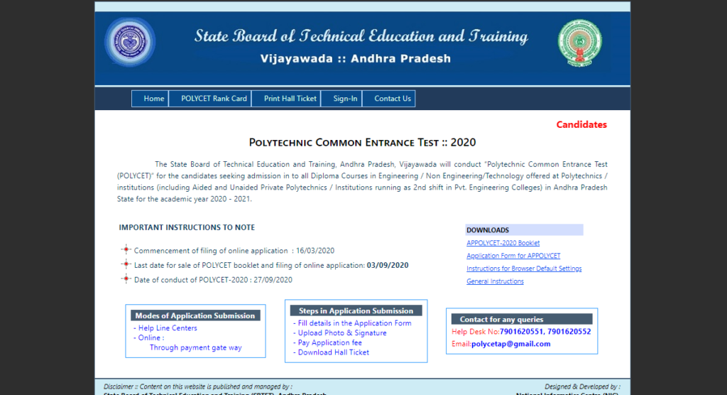 AP-POLYCET-2nd-Phase-Seat-Allotment-Result-2020