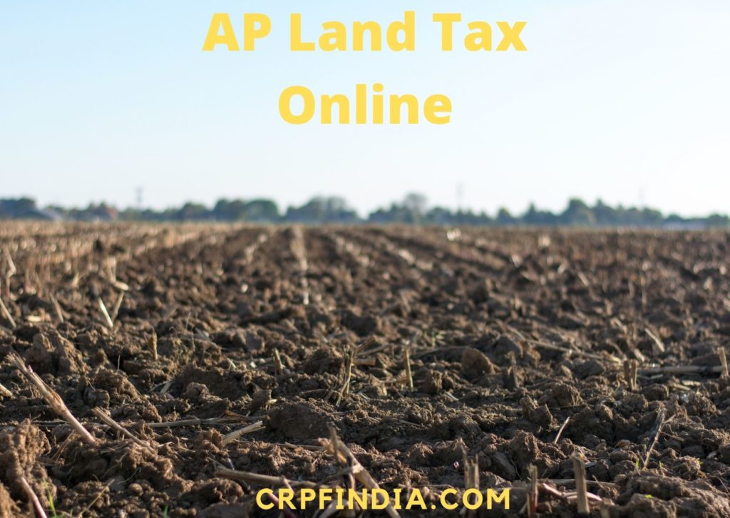 AP Land Tax Know Your Dues, Self Assessment, Tax Exemption, Mutation, Revision Petition