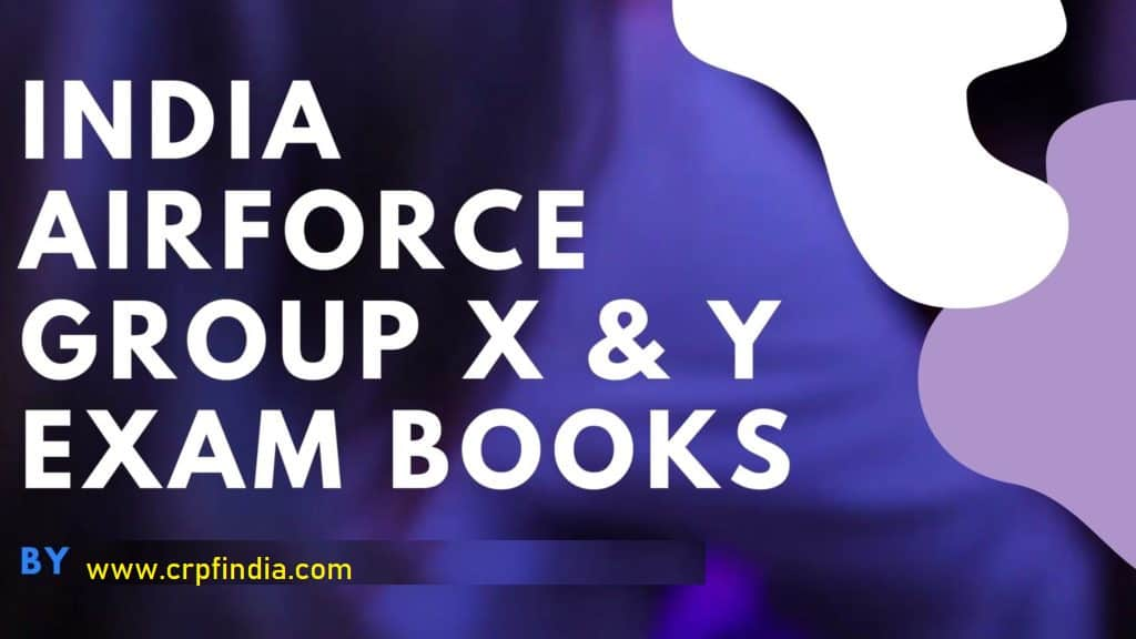 India-Airforce-Group-X-Y-Exam-Books-