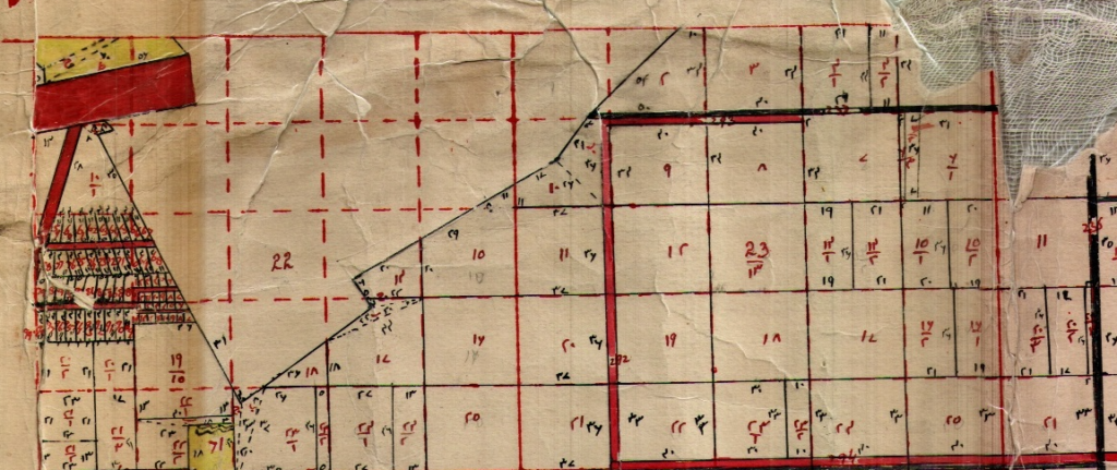 example of cadastral map